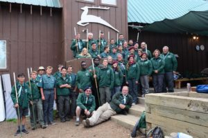 White Stag Sierra staff at Camp Cole