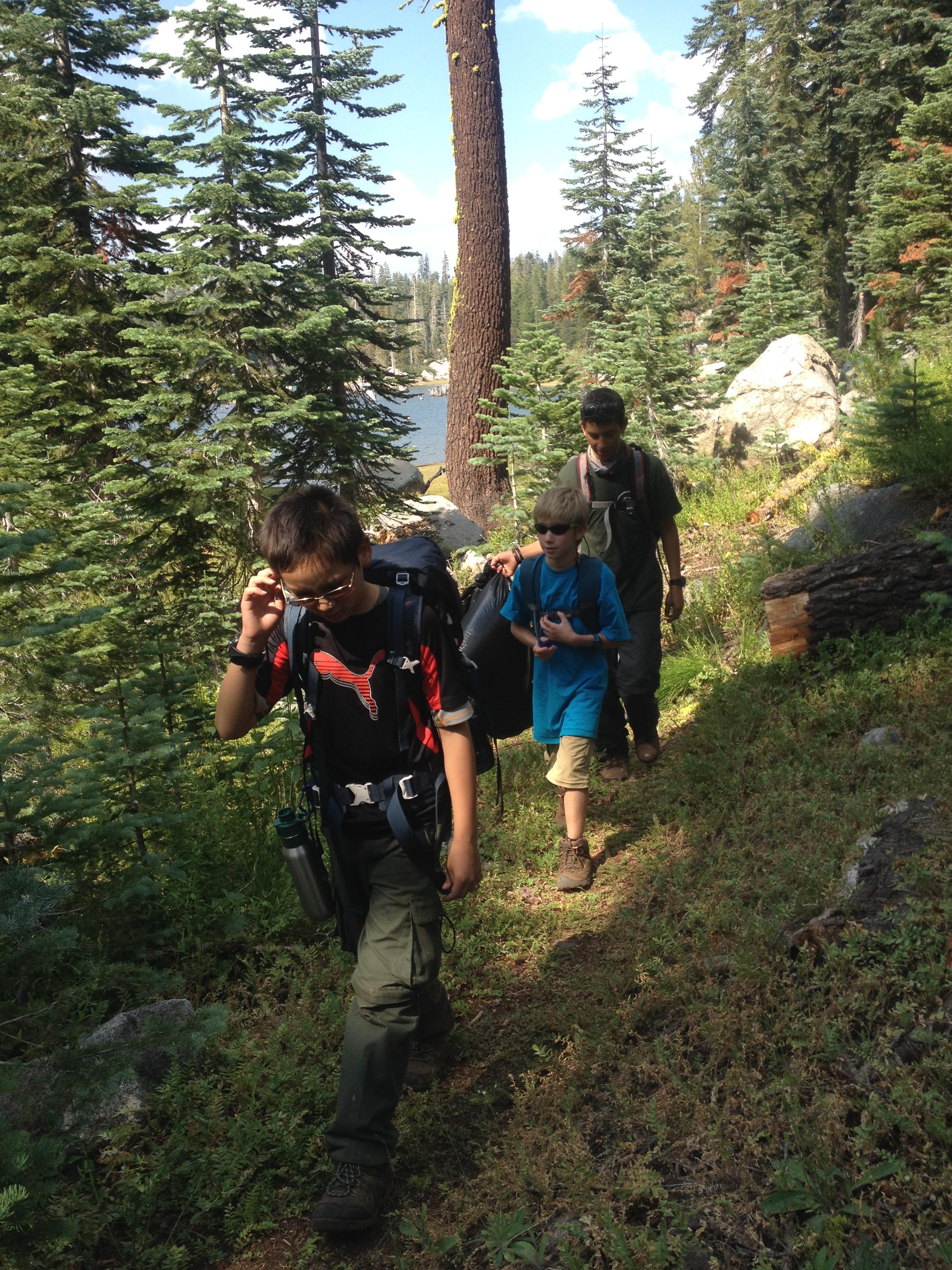 Patrol hike