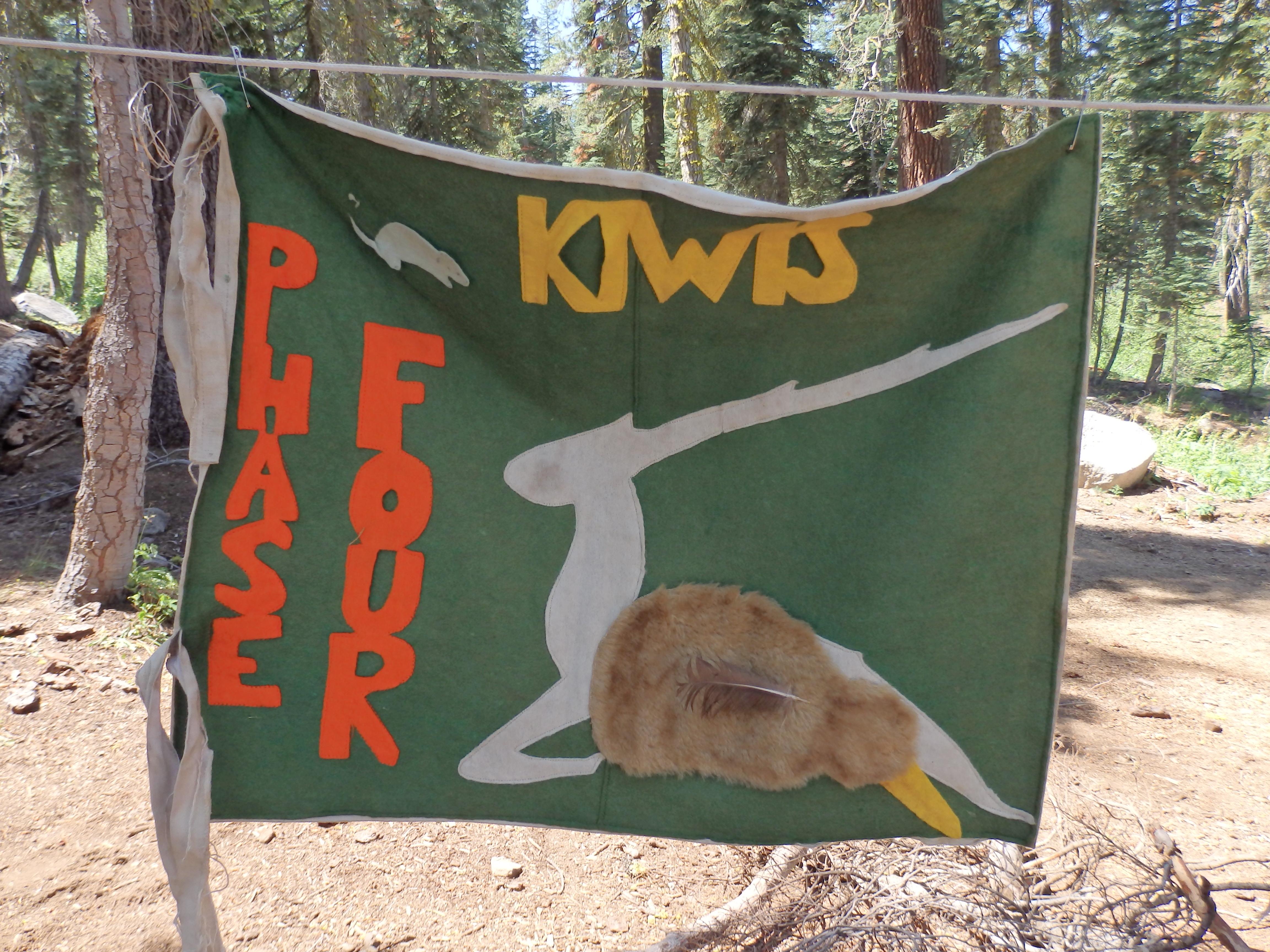 Kiwis patrol